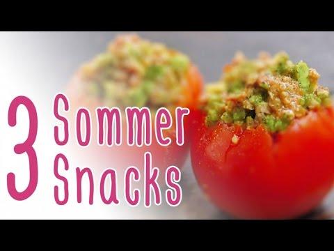 3 Sommersnacks | herzhaft DIY mit CookBakery