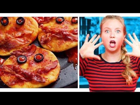 10 Zutaten Challenge   Schaurige Halloween Snacks