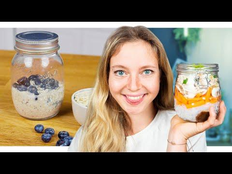Meal Prep: 3 einfache und schnelle Rezepte für den ganzen Tag