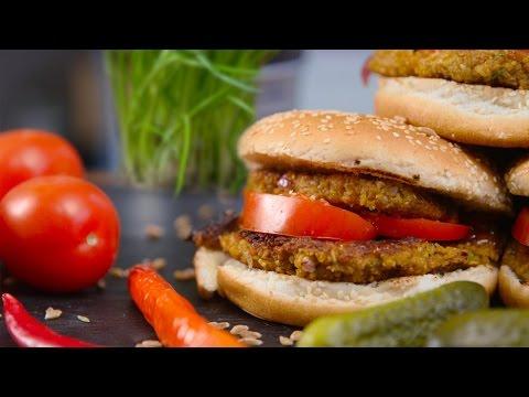 Saftiger Grünkern Burger I vegan