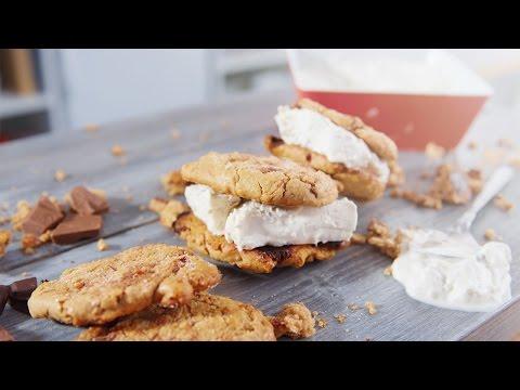 Eiscreme Cookie Burger | Unbedingt probieren!!