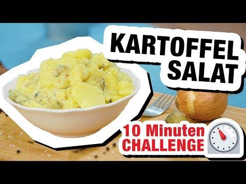 10 Minuten Challenge: Kartoffelsalat! ⏲