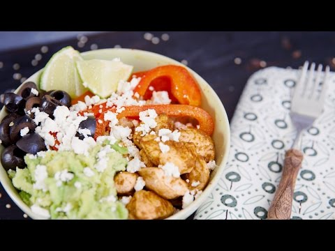 Quinoa Hähnchen Bowl