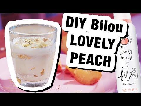 Bilou Rezept: Lovely Peach als Dessert 🍑