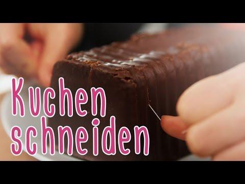 Kitchen Hack | Kuchen schneiden