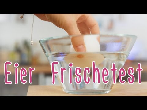 Kitchen Hack | Eier Frischetest